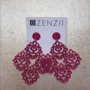 Zenzii statement earrings